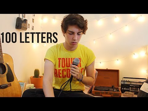 Halsey - 100 Letters (cover by Germano)