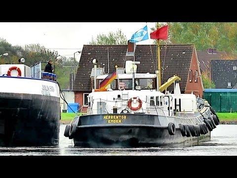 bunker boat Herrentor DJ5164 IMO 5100740 bunkering inland vessel Emden Germany