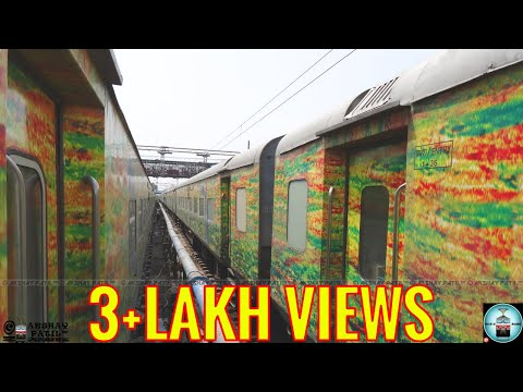 Full journey by 22210 Mumbai Duronto Express April 2015