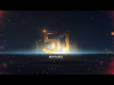 New Year Countdown 2019 After Effects Template - Epic Inspiration
