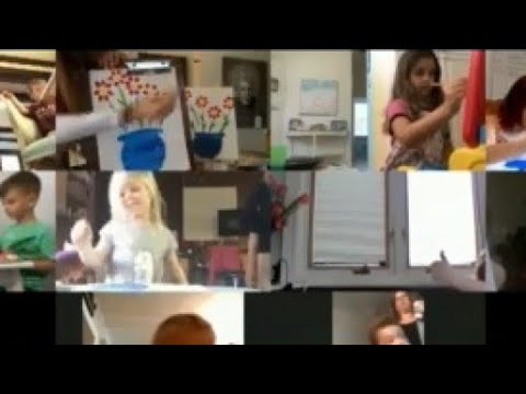 Kids get creative in FREE virtual art class during coronavirus pandemic from YouTube · Duration:  2 minutes 6 seconds