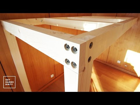 Loft Bed // Work Space : The Structure - Ep. 1