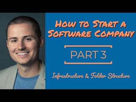 How to Build a Software Company: Infrastructure & Folder Structure [Part3]