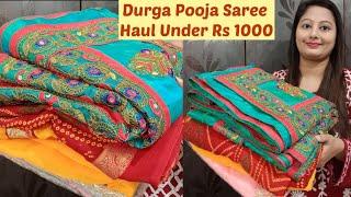 Flipkart Sale Saree Haul Under…