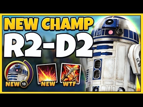 *STAR WARS IN LOL* R2D2 CHAMPION SPOTLIGHT RIOT SOLD OUT - League of Legends