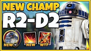 *STAR WARS IN LOL* R2D2 CHAMPION SPOTLIGHT (RIOT SOLD OUT) - League of Legends