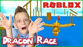 Dragons Wrecking the Land / Roblox Dragon Rage
