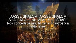 Oseh Shalom, עֹשֶׂה שָׁלוֹם, SUBTITULADO, LETRA, HEBREO ESPAÑOL