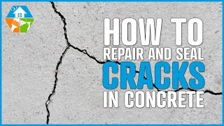 How to repair, seal and waterproof large cracks in concrete, cement, steel, pvc Video