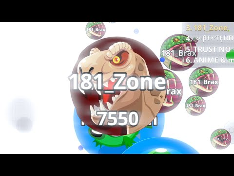 INSANE LAST SECOUND BAIT? (Agar.io Mobile Duo Takeover)