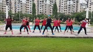 Ferrari Zumba remix choreography by Suresh Sonawane sfc fitness