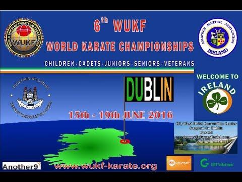 United World Karate Live Stream Ziua 1 partea 2 Dublin 2016