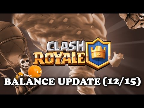 Clash Royale | New Balance Changes 12/15 | MEGA BARBARIANS!