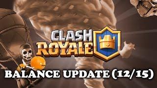 DE WITCH WORDT OP?! - Balance Changes 06/12 - Clash Royale