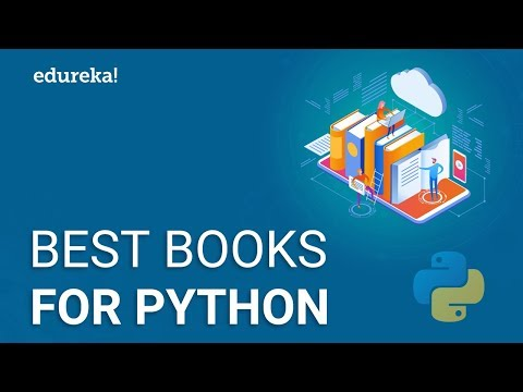 Top 10 Books To Learn Python | Best Books For Python | Good Books For Learning Python | Edureka
