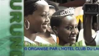 MISS BURUNDI 2010  (I^ Parte)