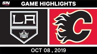 Nhl Highlights   Kings Vs. Flames – Oct. 8, 2019