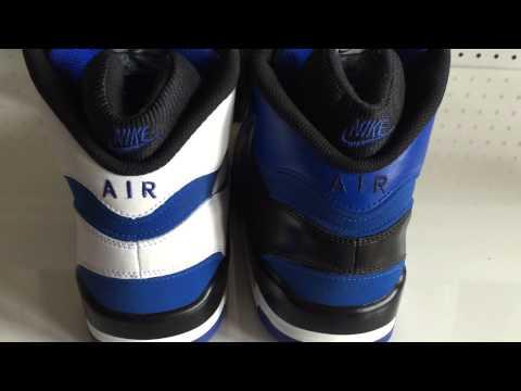 Nike Air Revolution Black and Royal Customs