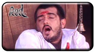 Red Tamil Movie | Scenes | Ajith True Identity Revealed | Priya Gill | Raghuvaran | Revathi | Deva