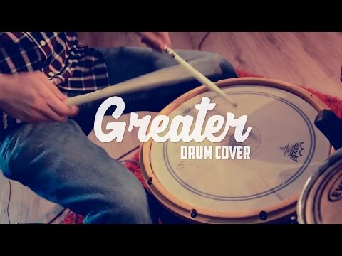 Greater - MercyMe - Drum Cover by Elvis Abraham