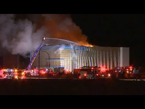 Huge Fire Breaks Out At Calgary Cineplex Movie Theatre