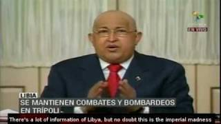 Hugo Chavez Wont Recognize National Transitional Council