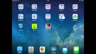Update : iOS 7 iPad Theme - Cydia Winterboard Theme für iPad 1, 2, 3 und iPad Mini