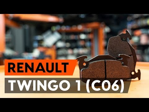 Cum Se înlocuiește Placute Frana Din Față RENAULT TWINGO 1 (C06) [TUTORIAL AUTODOC]