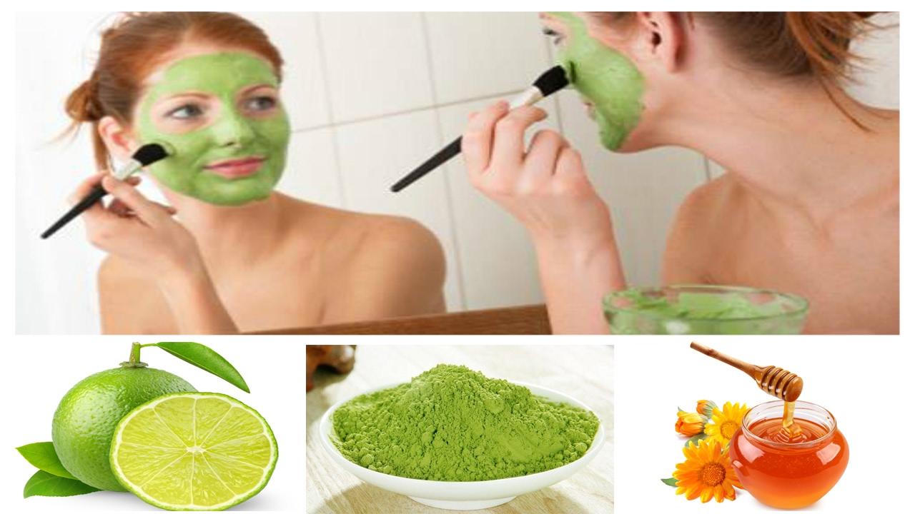 3 Cách làm mặt nạ trị mụn làm mờ vết thâm cho mọi loại da bằng bột trà xanh