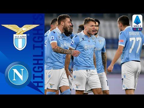 Lazio 2-0 Napoli | Immobile e Luis Alberto regalano tre punti ai biancocelesti | Serie A TIM