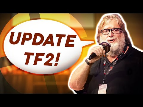 Valve actually RESPONDED...? (Gabe Newell about TF2 2021)