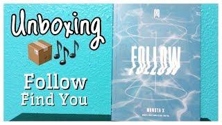 ☆ Unboxing 몬스타엑스 Monsta X 7th Mini Album Follow - Find You (…