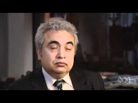 Fatih Birol (IEA) interview (Catalyst - Oil Crunch, ABC TV)