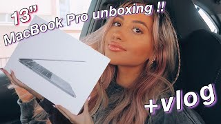 MACBOOK PRO UNBOXING 2020!! +VLOG *first impressions & overview*