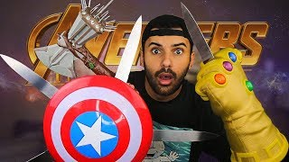 MOST DANGEROUS TOY OF ALL TIME!! (EXTREME NERF  MARVEL INFINITY WAR EDITION!!)