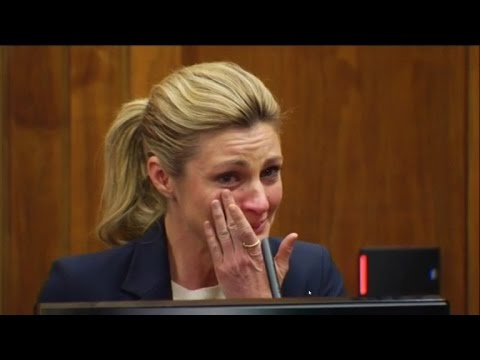 Erin Andrews Sobs While Testifying: Being Filmed Naked