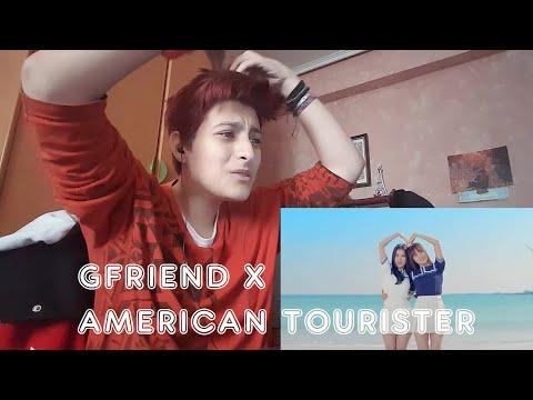 MV REACTION - GFRIEND X AMERICAN TOURISTER