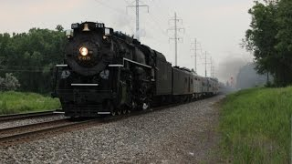 """Steam returns to Norfolk Southern Detroit District"" NKP 765 July 12,13 2014"