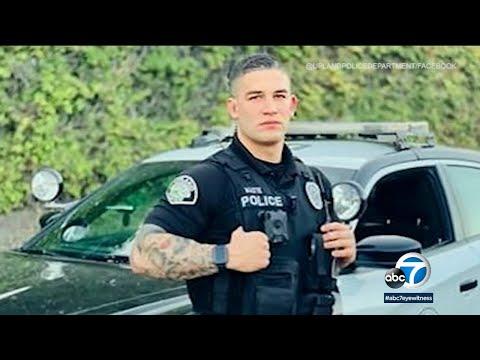 MODEL COP: Upland police officer getting plenty of looks aft