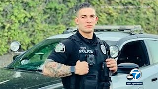 MODEL COP: Upland police officer getting plenty of looks after recruitment post goes viral | ABC7