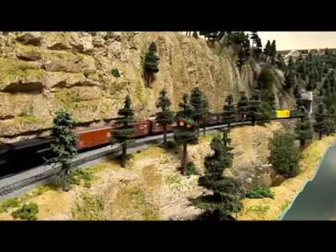 Custom model railroad designing | model railroad designing and building