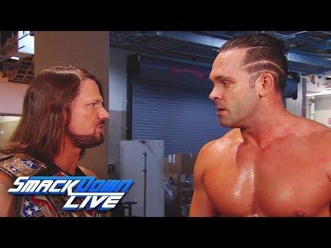 AJ Styles offers Tye Dillinger a huge opportunity: SmackDown LIVE, Sept. 5, 2017