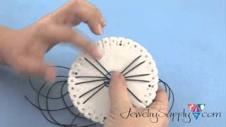 How to do a 12-Strand Kumihimo Bracelet