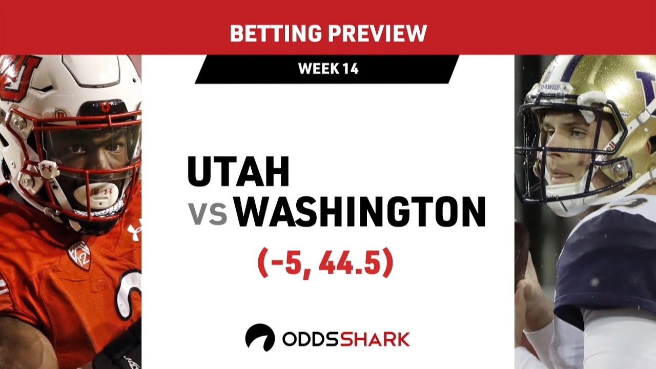 new arrivals 09919 d8ab8 College Football: Utah Utes vs Washington Huskies Betting Preview and Pick