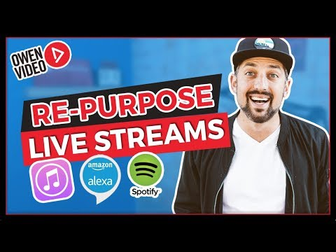 Repurpose Your Live Stream on Itunes, Alexa, & Spotify (🚀Launch Your Live) Mp3
