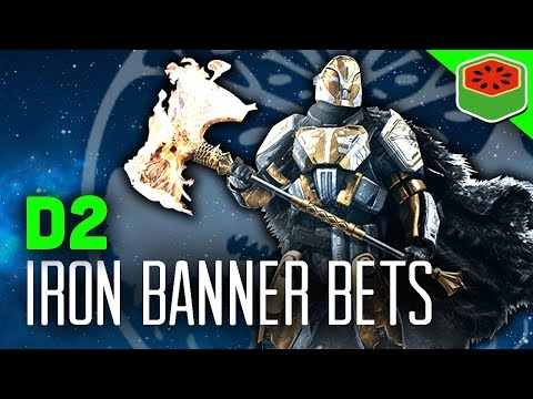 ULTIMATE DISMANTLE WAGER! | Destiny 2 - Iron Banner Bets #1 (The Dream Team)