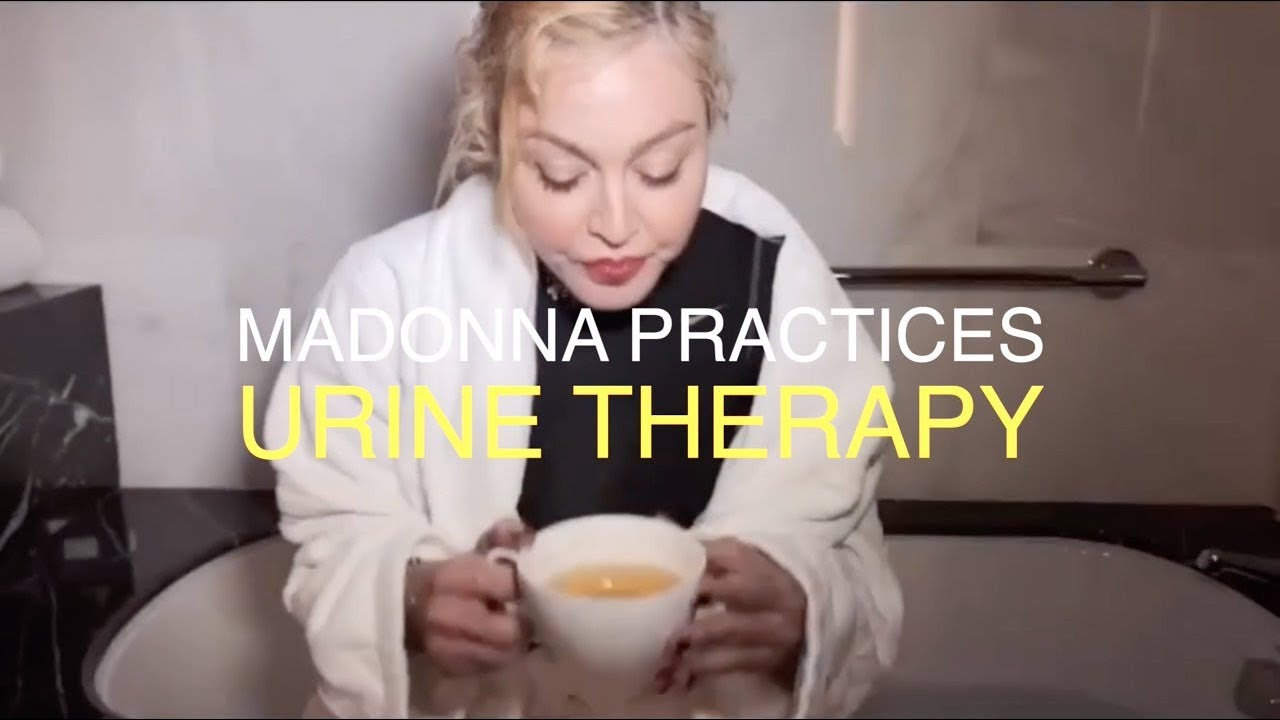 #urinetherapy ✨🏆✨ MADONNA DRINKS URINE?