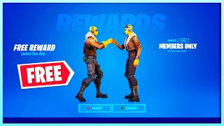*GRATIS* Emote Voor Fortnite Members!! *NIEUW* Fortnite x Tomb Raider?!?