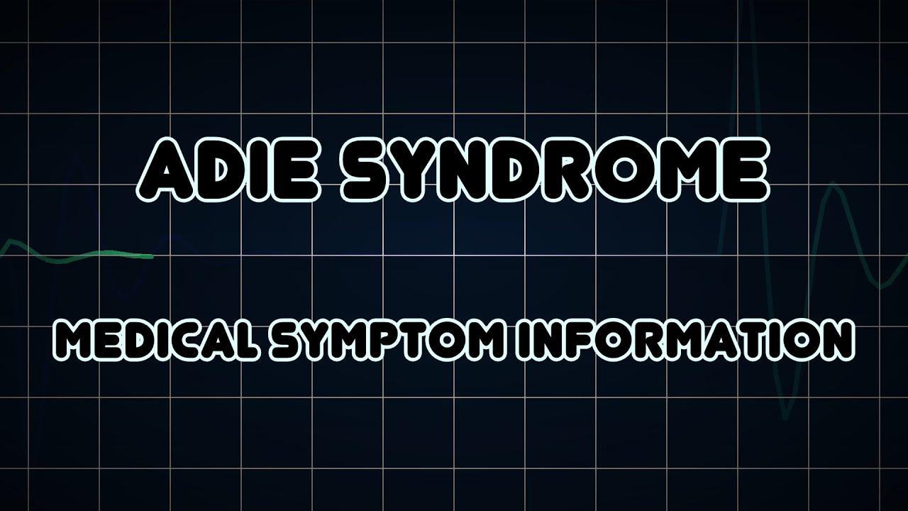 Эйди синдром