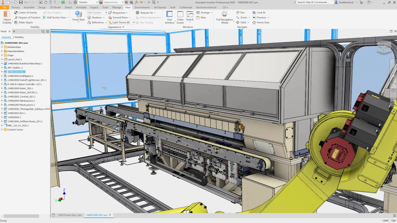 Autodesk Inventor 2020 what's new: Performance Improvements